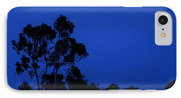 Blue Landscape IPhone Case by Mark Blauhoefer
