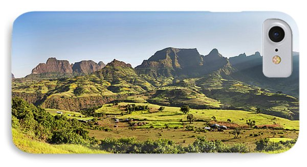 Landscape Near The Escarpment IPhone Case