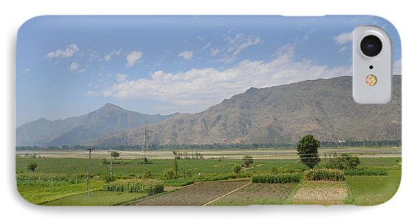 IPhone Case featuring the photograph Landscape Of Mountains Sky And Fields Swat Valley Pakistan by Imran Ahmed