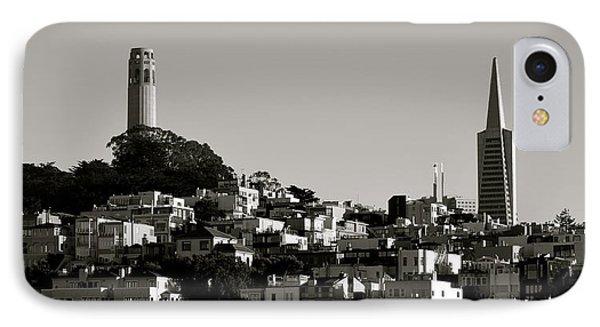 Landscape Of San Francisco IPhone Case by Alex King