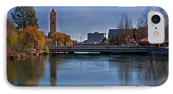 IPhone Case featuring the photograph Landscape Of Spokane Wa Riverfront Park  by Valerie Garner
