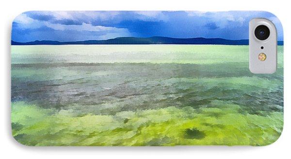 Landscape Of The Balaton Lake IPhone Case by Odon Czintos