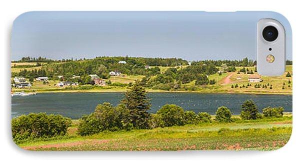 Landscape Panorama Of Prince Edward Island  IPhone Case by Elena Elisseeva