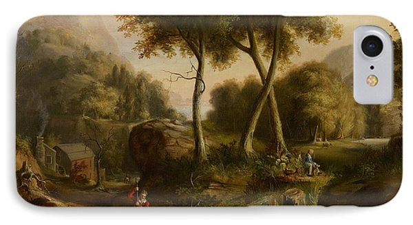 Landscape IPhone Case by Thomas Cole
