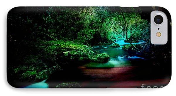 Landscape Waler Flows IPhone Case by Marvin Blaine