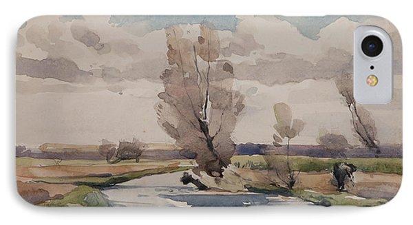 Landscape IPhone Case by Henri Duhem