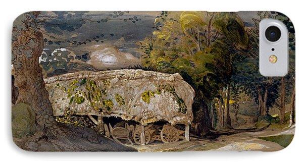 Landscape With A Barn, Shoreham, Kent IPhone Case