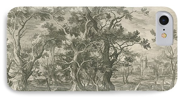 Landscape With A Prophet Torn By A Lion From Judah IPhone Case
