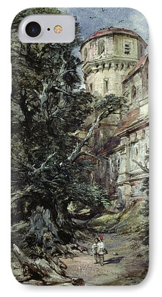 Landscape With Castle And Trees IPhone Case by George Cattermole