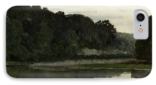 Landscape With Heron IPhone Case