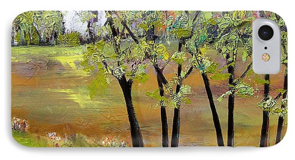 Landscapes Art - Hill House IPhone Case by Blenda Studio