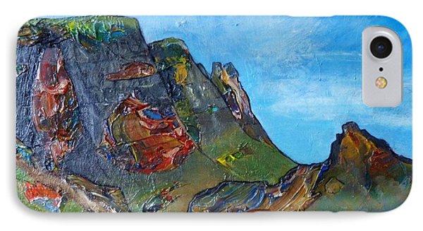 Landslip - Skye Phone Case by Jacki Wright