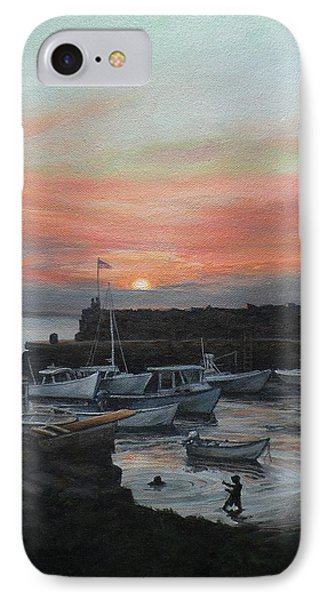 Lanes Cove Sunset IPhone Case