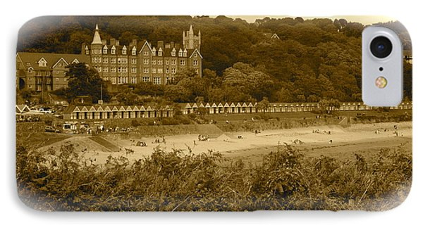 Langland Bay Gower Wales IPhone Case