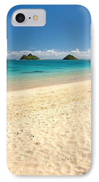 Lanikai Beach 2 - Oahu Hawaii Phone Case by Brian Harig