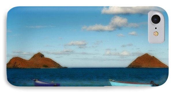 IPhone Case featuring the photograph Lanikai Beach by Caroline Stella