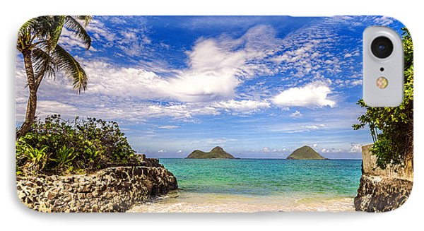 IPhone Case featuring the photograph Lanikai Beach Cove by Aloha Art