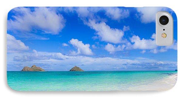 Lanikai Beach Tranquility 3 To 1 Aspect Ratio IPhone Case by Aloha Art