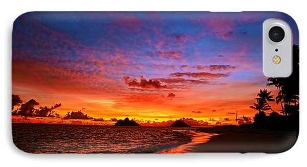IPhone Case featuring the photograph Lanikai Winter Sunrise by Aloha Art