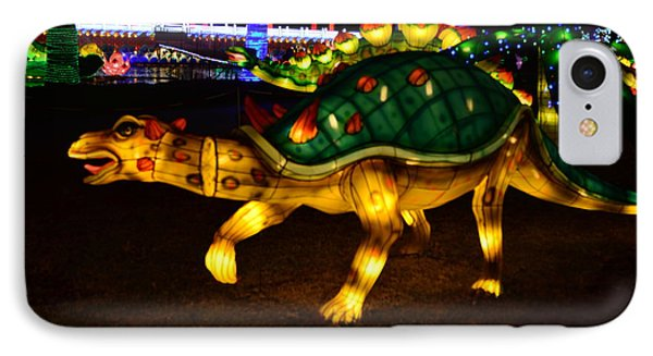 Lantern Dinosaur IPhone Case
