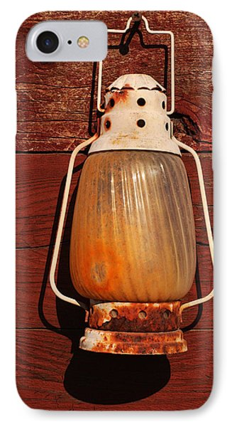 Lantern On Red Phone Case by Art Block Collections