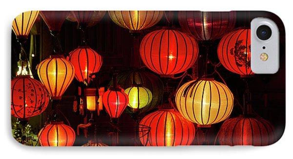 Lantern Shop At Night, Hoi An (unesco IPhone Case
