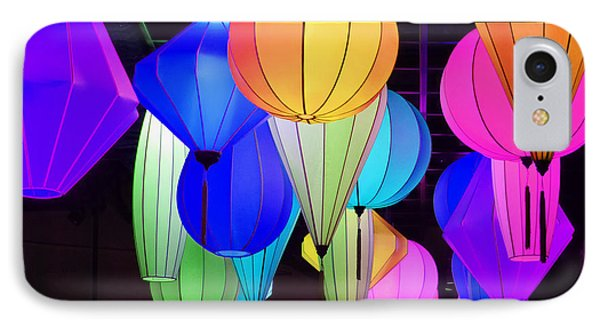 Lanterns IPhone Case by Marguerita Tan