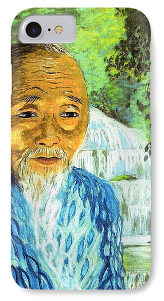 Lao Tzu Phone Case by Jane Small
