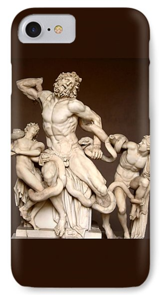 Laocoon And Sons IPhone Case by Ellen Henneke