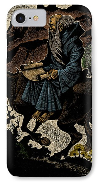 IPhone Case featuring the photograph Laozi, Ancient Chinese Philosopher by Science Source
