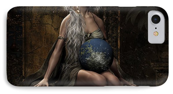 Lap Of The Gods IPhone Case by Shanina Conway