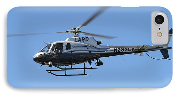 Lapd In Flight IPhone Case by Shoal Hollingsworth