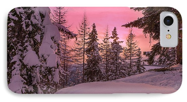 Lapland Sunset IPhone Case by IPics Photography