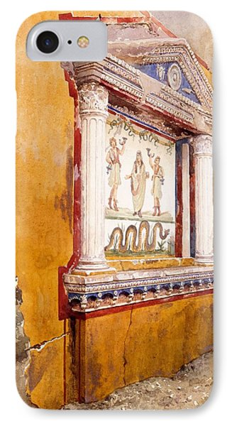 Lararium Of Family Altar, Seen In Situ IPhone Case