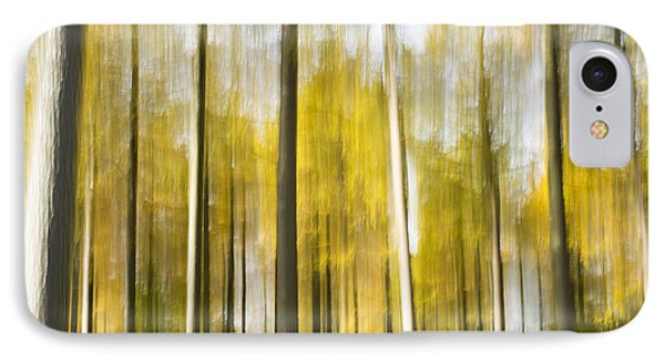 Larch Grove Blurred Phone Case by Anne Gilbert