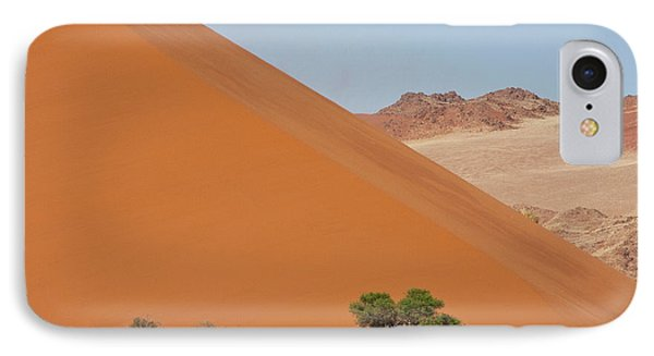Large Dune With Trees In Front IPhone Case by Jaynes Gallery