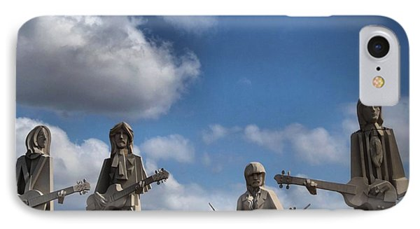 Larger Than Life Beatles IPhone Case by Dan Sproul