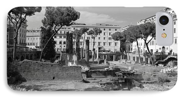 Largo Di Torre - Roma IPhone Case by Dany Lison