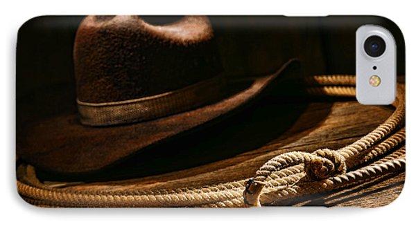 Lariat And Hat IPhone Case