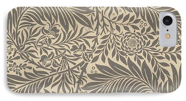 Larkspur Wallpaper Design IPhone Case