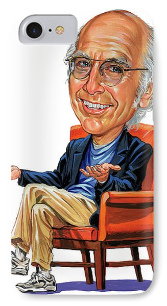 Larry David IPhone Case by Art