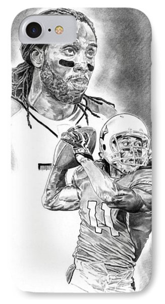Larry Fitzgerald Phone Case by Jonathan Tooley