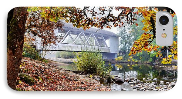 Larwood Covered Bridge IPhone Case by Ansel Price