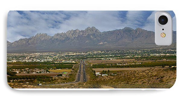 Las Cruces New Mexico Panorama IPhone Case by Jack Pumphrey