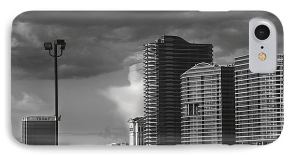 Las Vegas Black N White IPhone Case