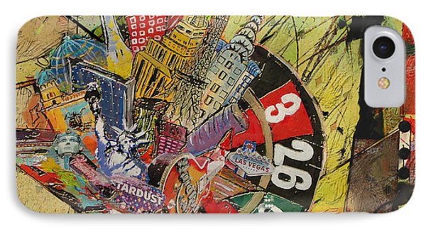 Las Vegas Collage IPhone Case