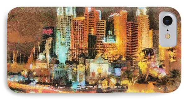 Las Vegas IPhone Case by Georgi Dimitrov