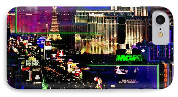 Las Vegas Igniting Your Fire IPhone Case by Christine Mayfield