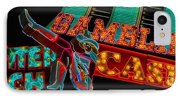 Las Vegas Neon Signs Fremont Street  Phone Case by Amy Cicconi