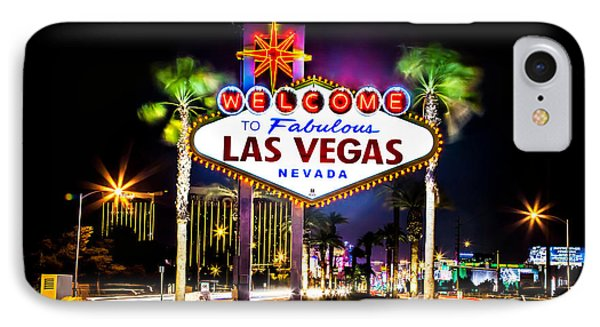 Las Vegas Sign IPhone Case